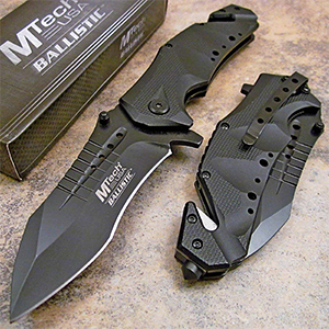 MTech USA MT-A845BK Spring Assist Folding Knife