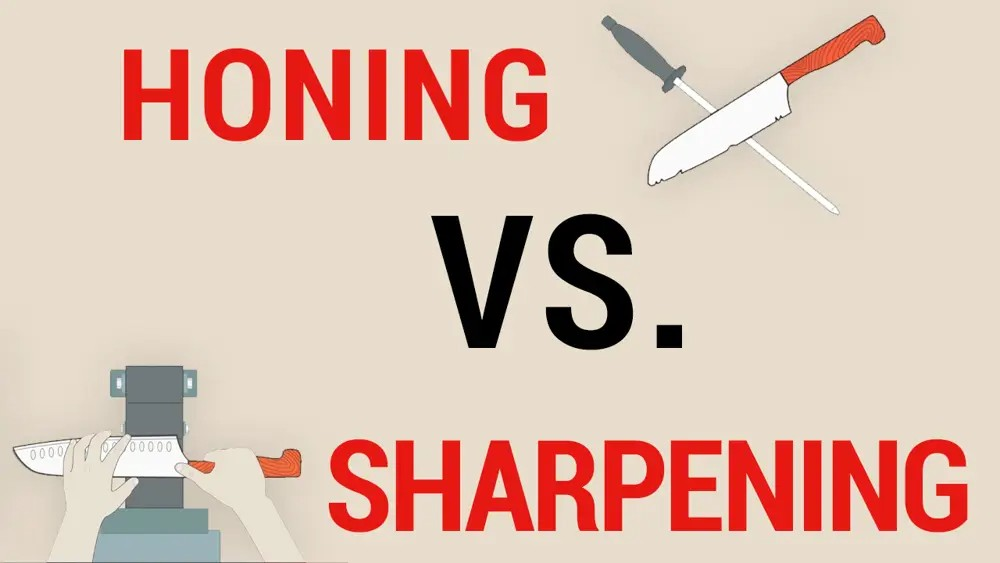 honing vs sharping