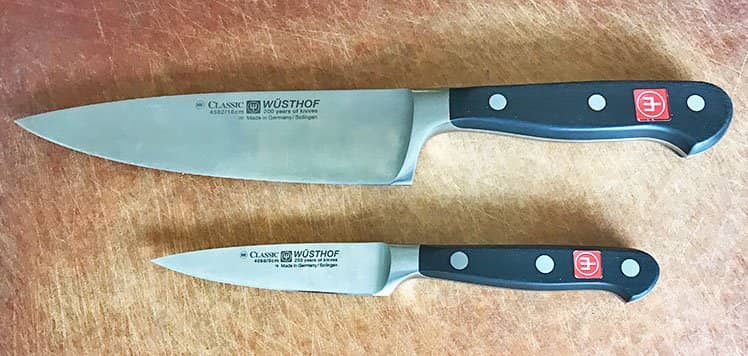 forged vs stamped kitchen knives